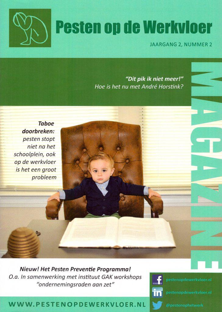 Magazine 2 Pesten op de werkvloer